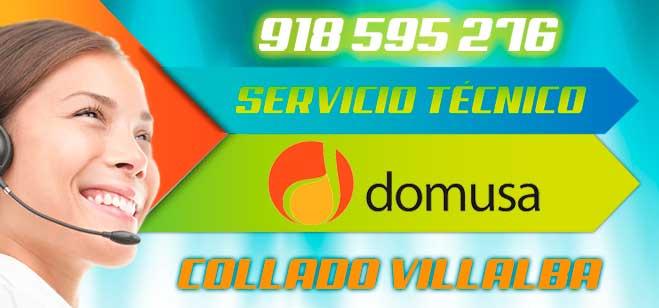 Servicio tecnico Domusa en Collado Villalba