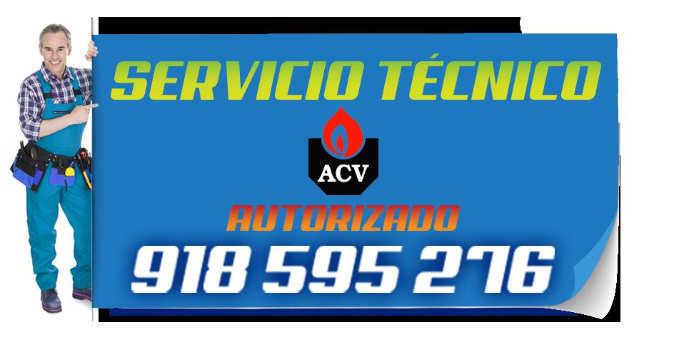 Servicio tecnico ACV en Valdemoro