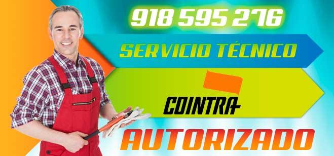 Servicio tecnico COINTRA en Madrid, Getafe, Parla, Valdemoro, Coslada, San Fernando de Henares y Torrejon de Ardoz