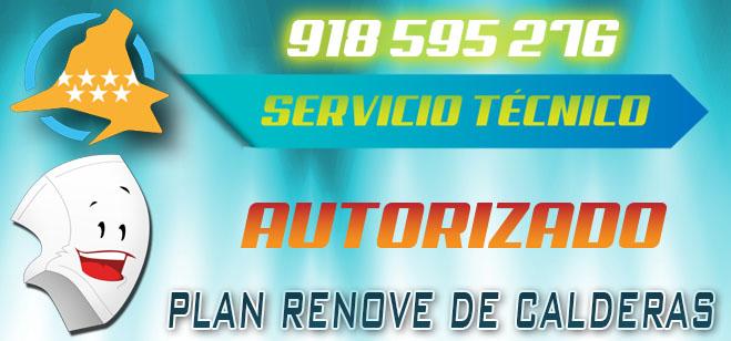 Servicio Tecnico Autorizado para el Plan Renove de Calderas de la Comunidad de Madrid