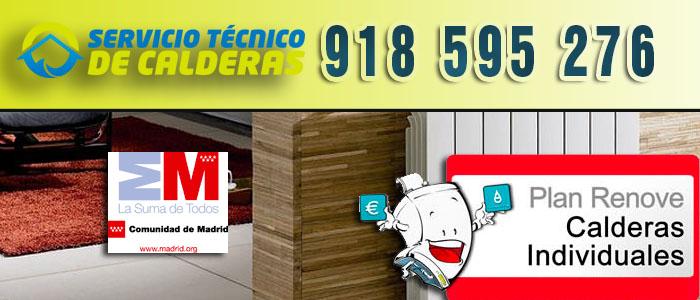 150 euros con el Plan Renove de Calderas 2015 en la Comunidad de Madrid