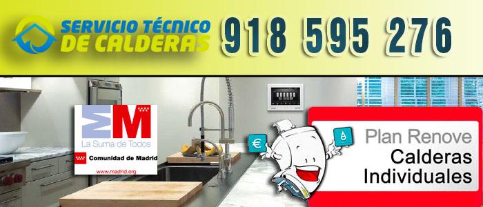 Plan Renove de Calderas individuales 2015 en Madrid