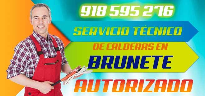 Servicio tecnico de calderas en Brunete