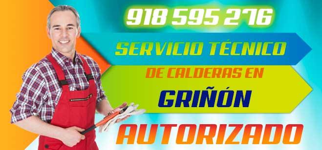 Servicio tecnico de calderas en Griñon