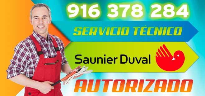 servicio tecnico de calderas Saunier Duval en Alcobendas