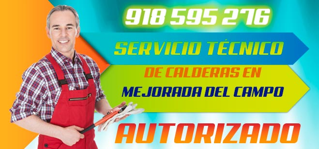 Servicio tecnico de calderas en Mejorada del Campo