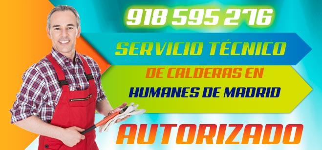 Servicio tecnico de calderas en Humanes de Madrid