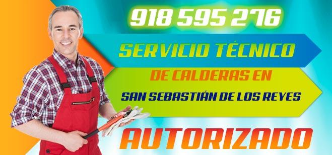 Servicio tecnico de calderas San Sebastian de los Reyes