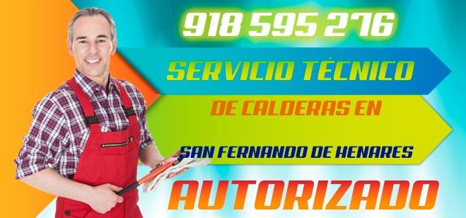 Servicio tecnico de calderas en San Fernando de Henares