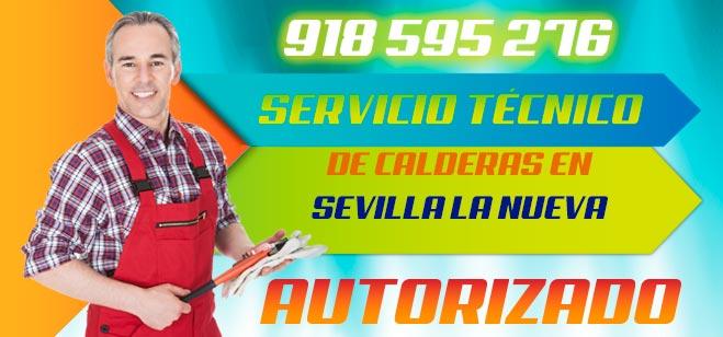 Servicio tecnico de calderas en Sevilla la Nueva