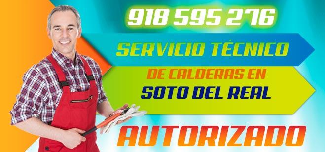 Servicio tecnico de calderas en Soto del Real