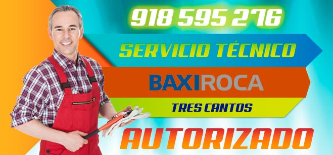 Servicio Tecnico BaxiRoca Tres Cantos