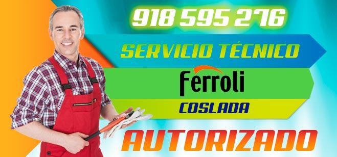 Servicio Tecnico Ferroli Coslada