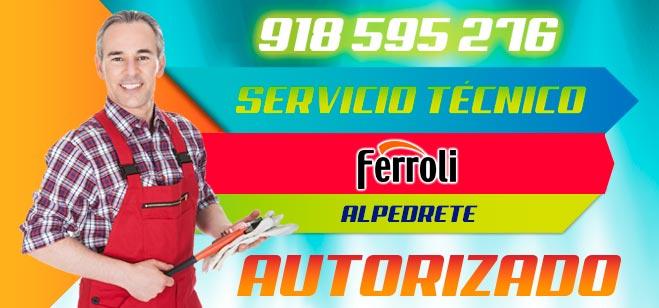 Servicio Tecnico Ferroli Alpedrete