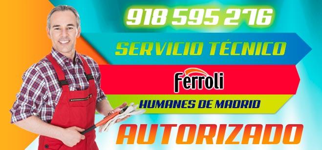 Servicio Tecnico Ferroli Humanes de Madrid