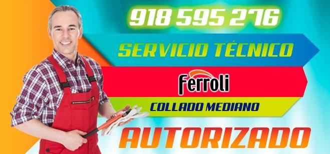 Servicio Tecnico Ferroli Collado Mediano