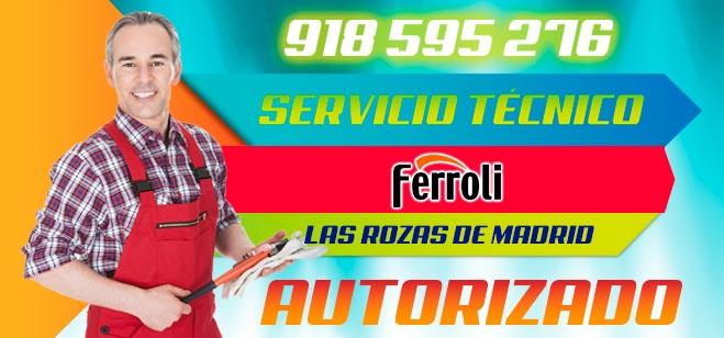 Servicio Tecnico Ferroli Las Rozas de Madrid