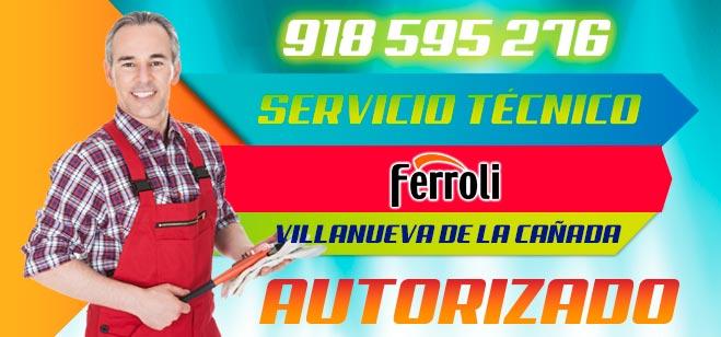 Servicio Tecnico Ferroli Villanueva de la Cañada
