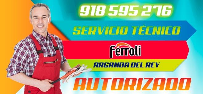 Servicio Tecnico Calderas Ferroli Arganda del Rey