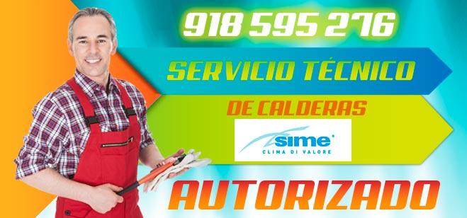 Servicio Tecnico Calderas Sime Madrid