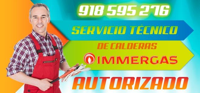 Servicio Técnico Calderas Immergas Madrid