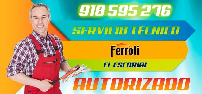 Servicio Técnico Calderas Ferroli en El Escorial
