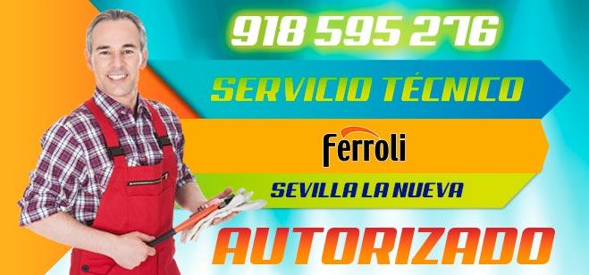 Servicio Técnico Calderas Ferroli en Sevilla la Nueva