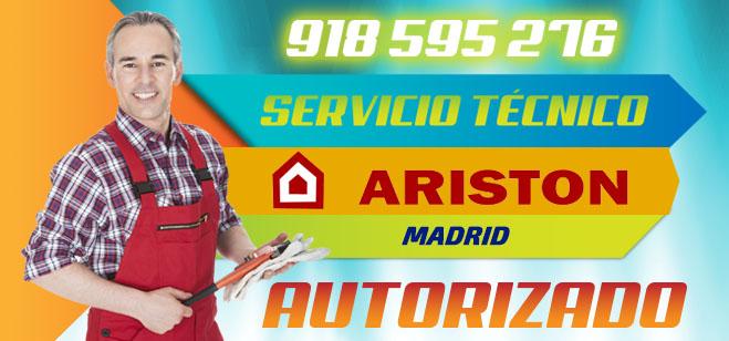 Servicio Técnico Calderas y Calentadores Ariston en Madrid