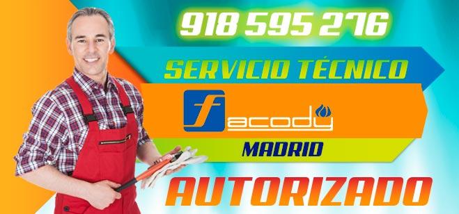 Servicio Técnico Calderas Facody en Madrid