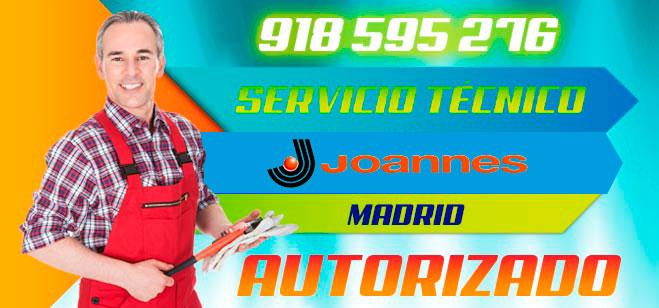 Servicio Técnico Calderas y quemadores Joannes en Madrid